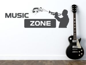 Wandtattoo Music Zone