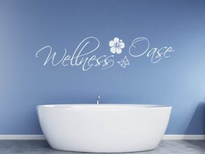 Wandtattoo Wellness Oase Lotus